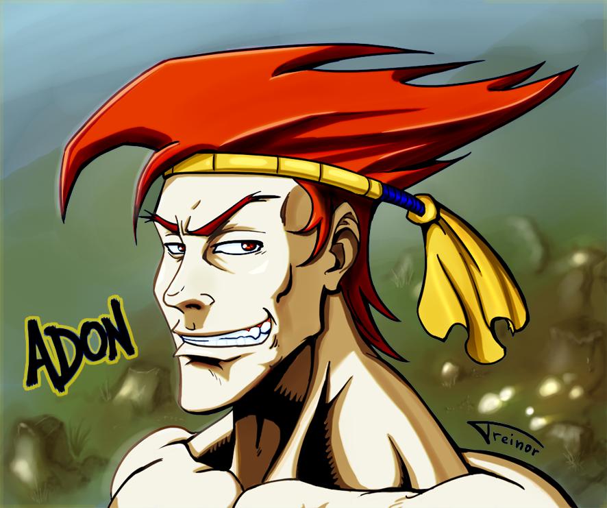 ADON - Street Fighter by TREINOR