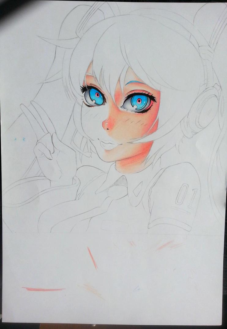 Miku Hatsune by saito602