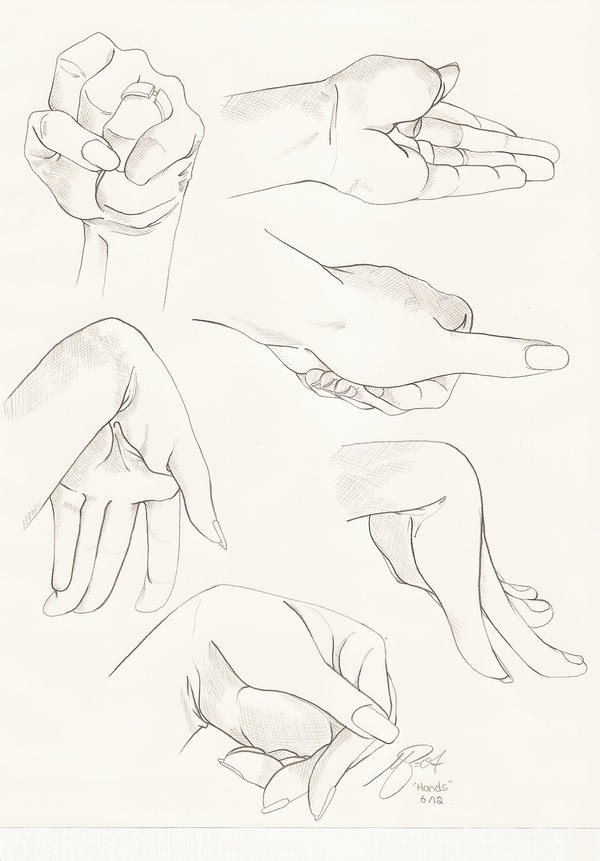 Hand Study by PinkPigtails