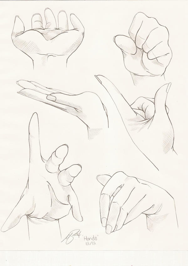 Hand Study 2 by PinkPigtails