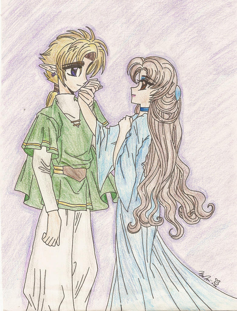 Link and Minorue by PinkPigtails