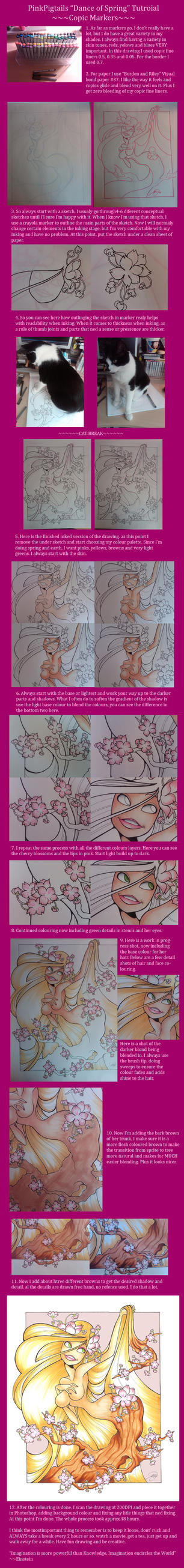 'Dance of Spring' Tutorial by PinkPigtails