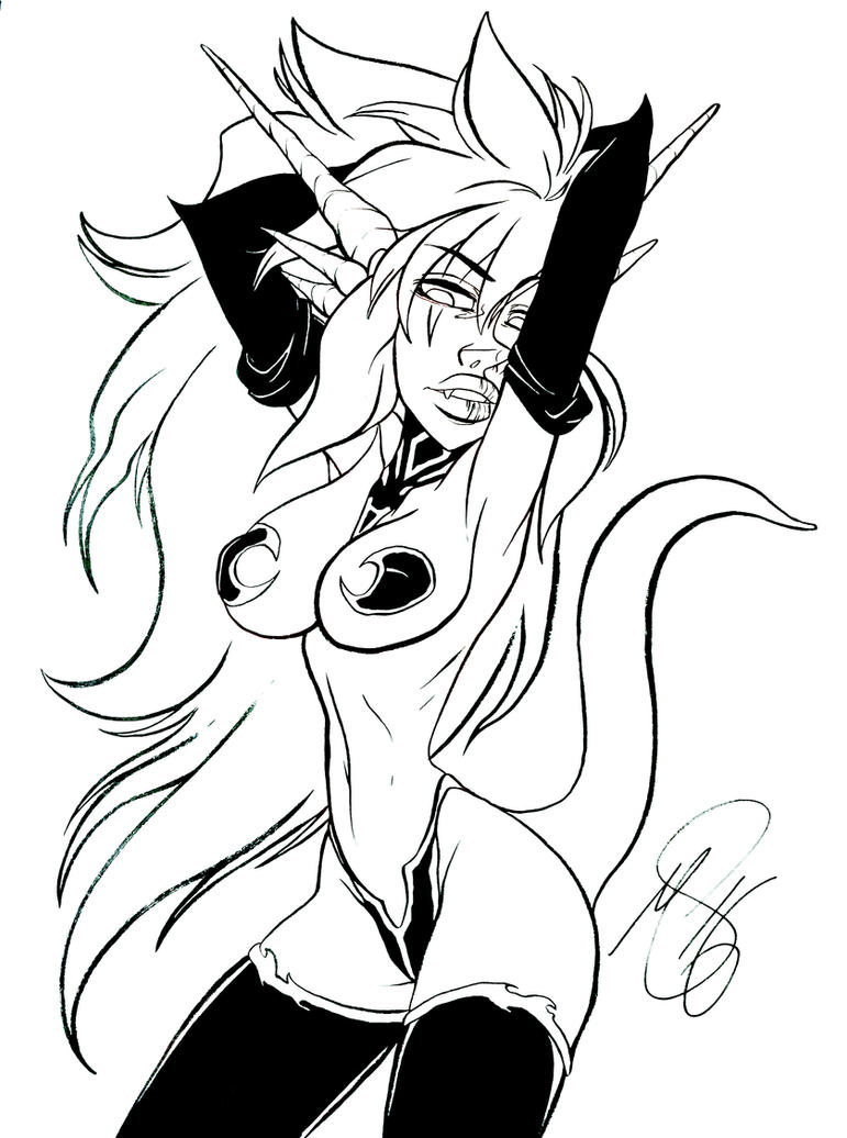 Ink Mink by PinkPigtails