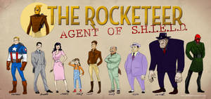 The Rocketeer - Agent of S.H.I.E.L.D.