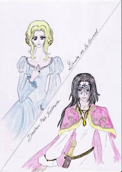Ysandre and Drustan