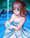Magic Lake by FerjArt