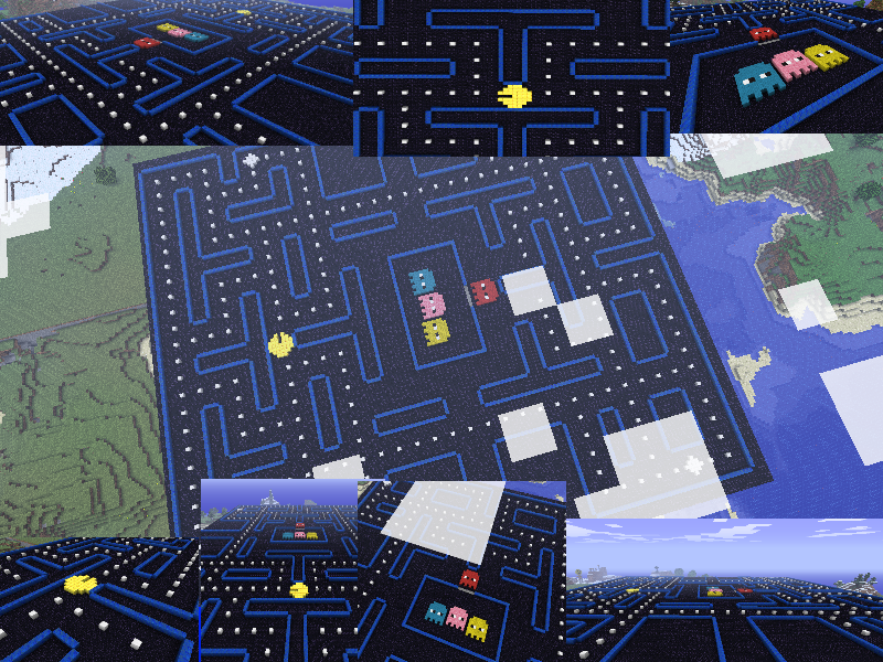 Pac-Man Stage By Panda203 On DeviantArt