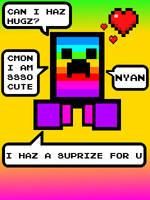 Rainbow-Crepper Wantz Hugz