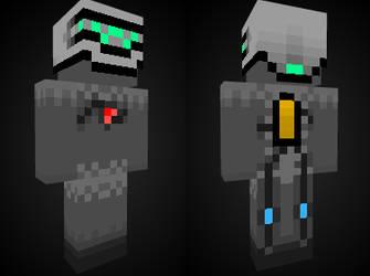 MineCraft Skin - RobotGuy