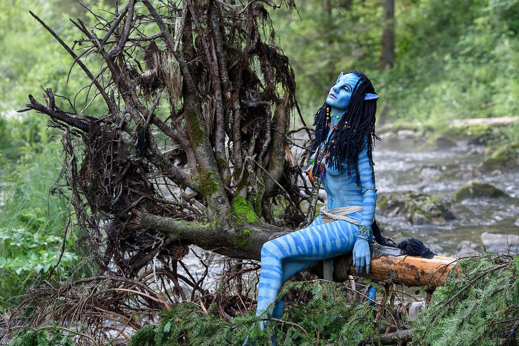 Cosplay Neytiri Avatar by MurzikYuki