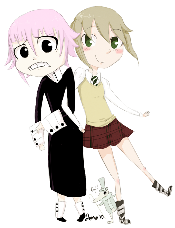 Maka and Crona by Lemon-Paper on DeviantArt