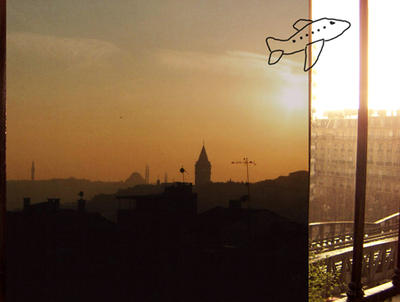 istanbul to paris by DelilahWoolf