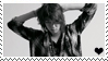 kim heechul stamp by wonderpaper