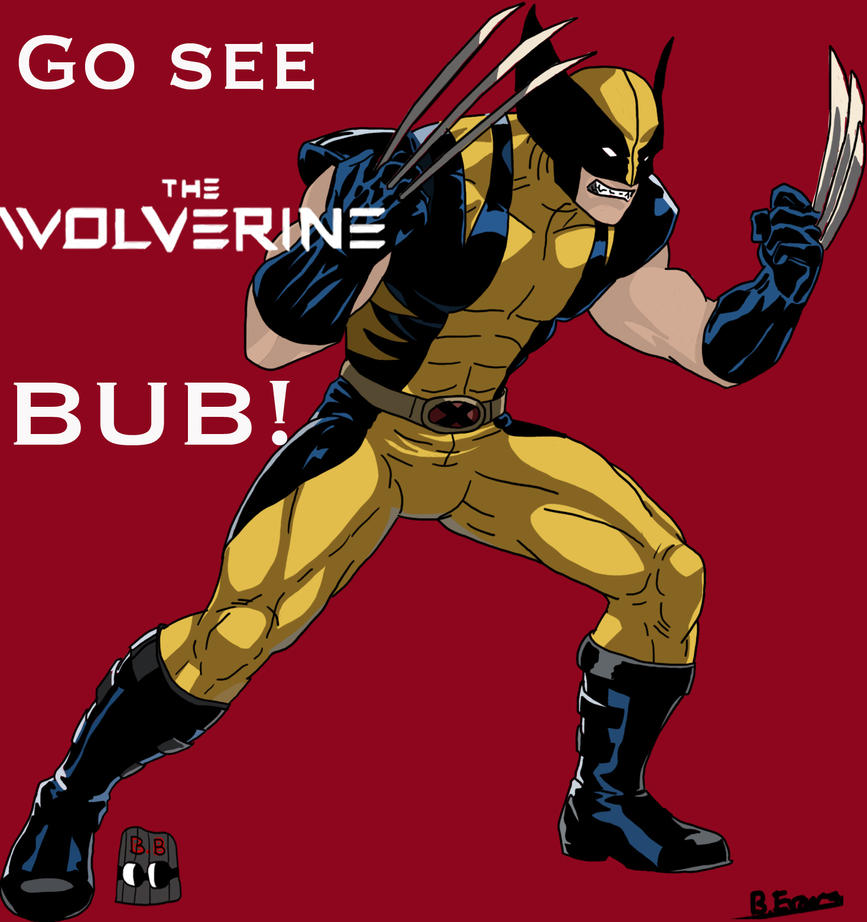 The Wolverine by SomeShortGuy