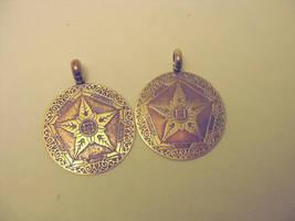 WIP Riven pendants--which do you prefer? by rivenwanderer