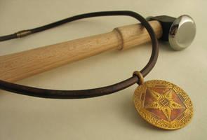 Coming soonish: Riven Crest pendants