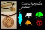 ALL GONE! Making custom Myst pendants