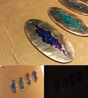 Beta run of Star Fissure necklace idea by rivenwanderer