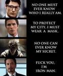 F U I'm Iron Man