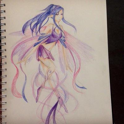 Purple fairy by AlpacaAssasin