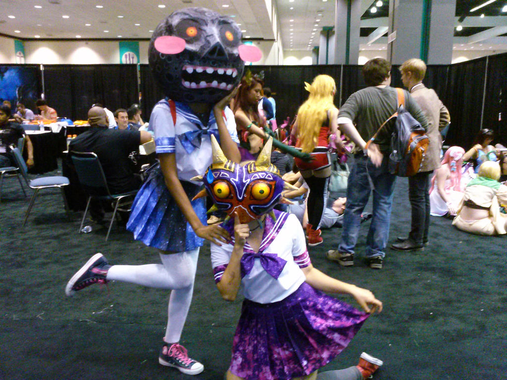 Majora's Mask and The Moon Kawaii as FUCK by MaximusWestfield