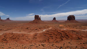Monument Valley I by Oaken-shield