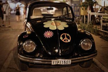 Hippie VW Beetle