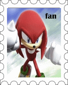 Knuckles fan-Stamp by JocaSonic