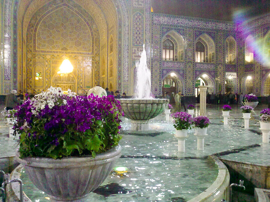 Imam Reza Holy shrine by ahmadmotamedi