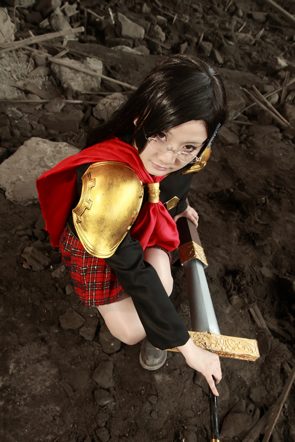 Final Fantasy Type-0 QUEEN 01 by yukintoshimi