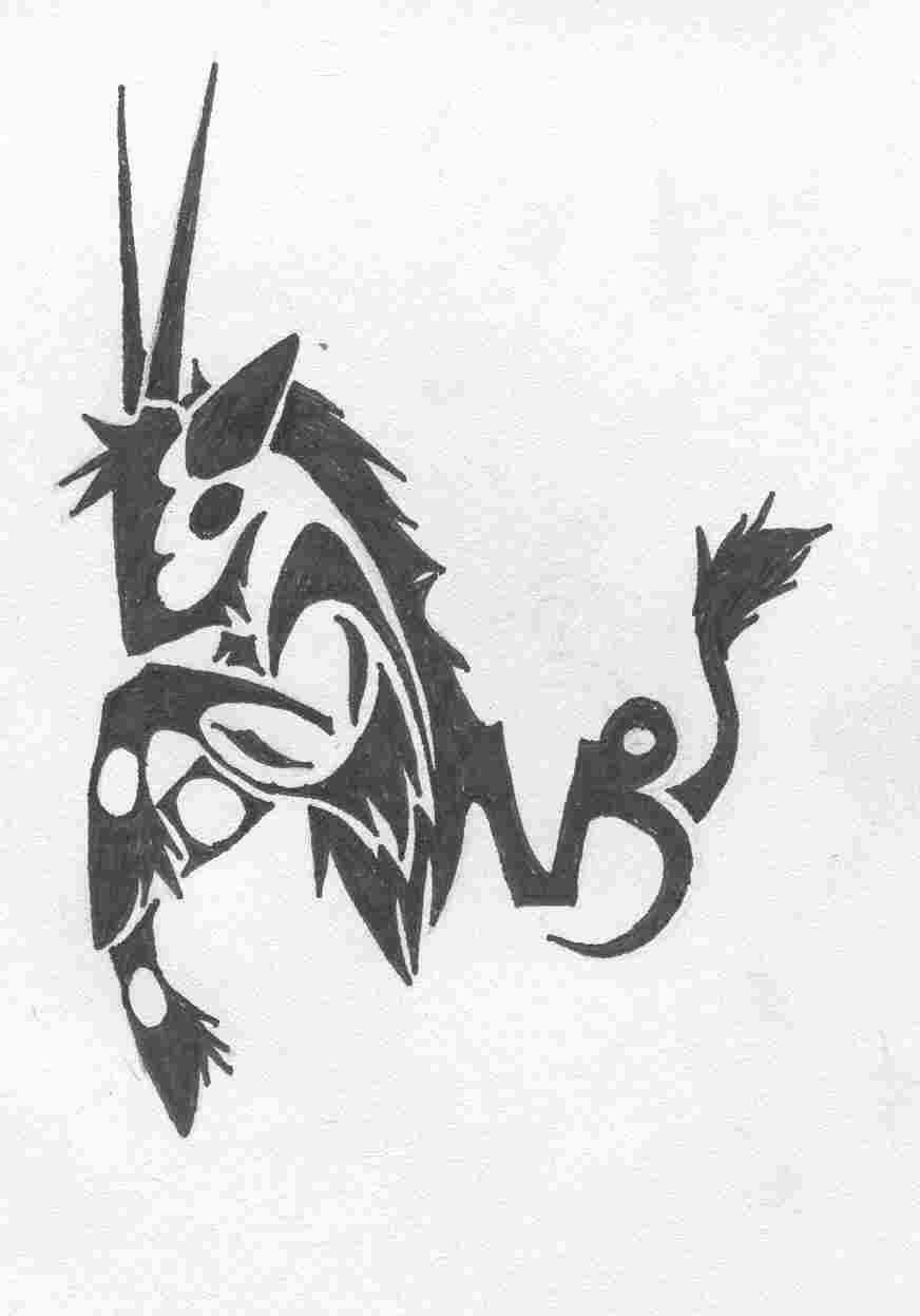 Capricorn Tattoos Tribal