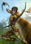 Freya (Skyrim art trade)