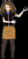 The Hostess is ready to serve you! (Food Gijinka) by GunsNro-Ses