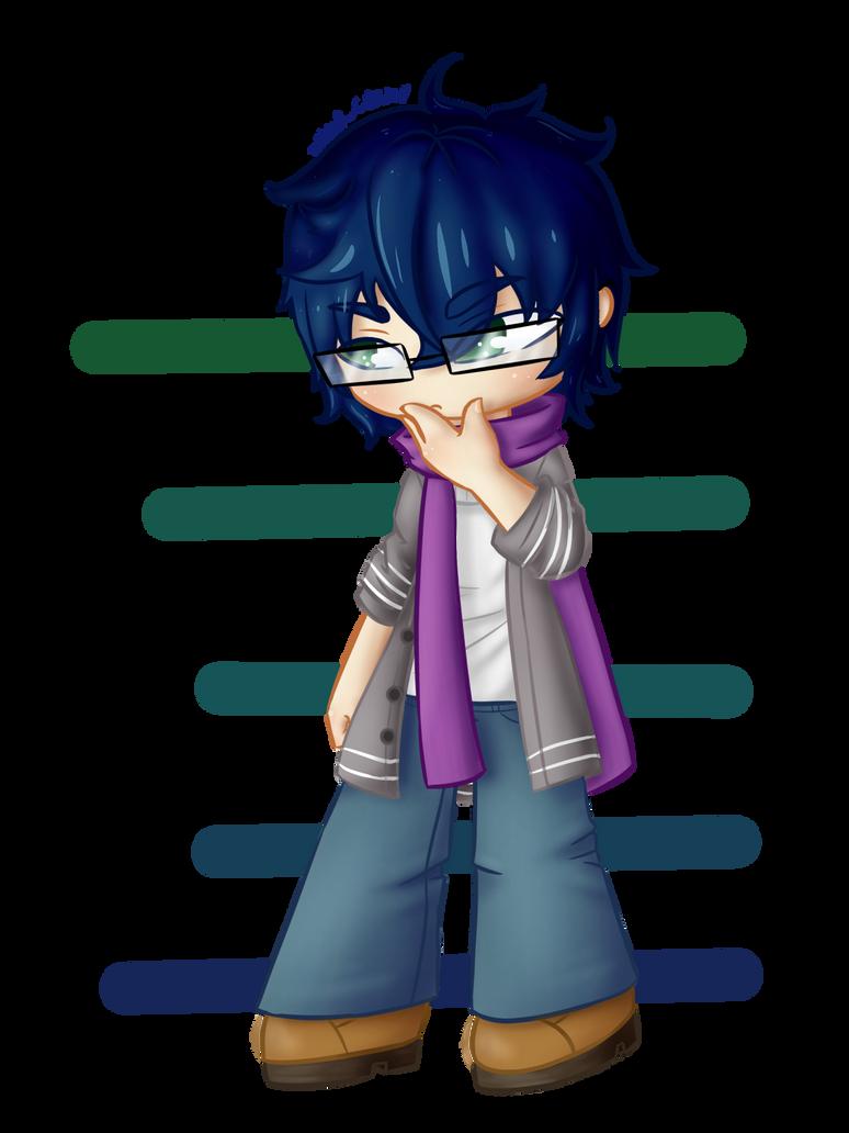 Chibi commission for LunaSukii by SilverCreation