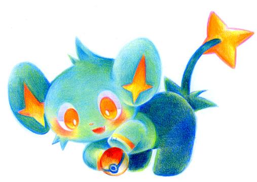 Shinx From Pokemon By Sakikoamana On Deviantart
