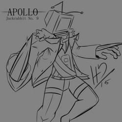 Apollo (Jackrabbit No.9) by SlimeCloudBeta
