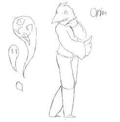 Orion Redraw (Sketch) by SlimeCloudBeta