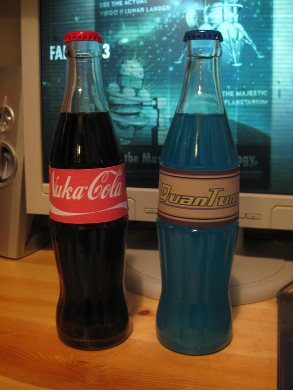 Nuka-Cola and Quantum by Werdo90