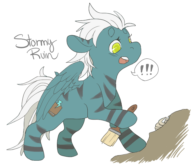 DairyCherry's Art / Requests Stormy_ruin_by_dairycherry-d7g9xyh