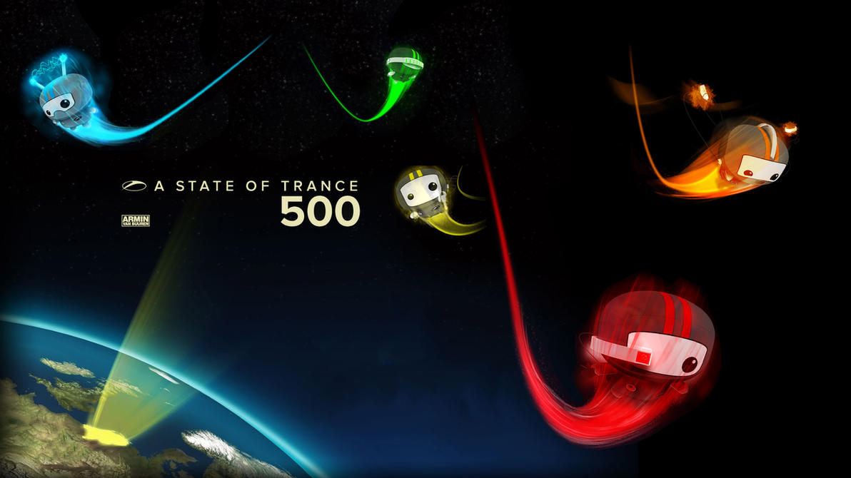 A State Of Trance 500 HD Wall by Brillu