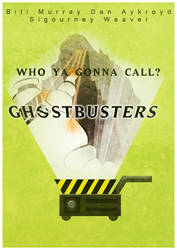 Ghostbusters Retro Movie Poster by Tafkag
