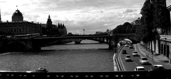 River Seine by ridinstarr