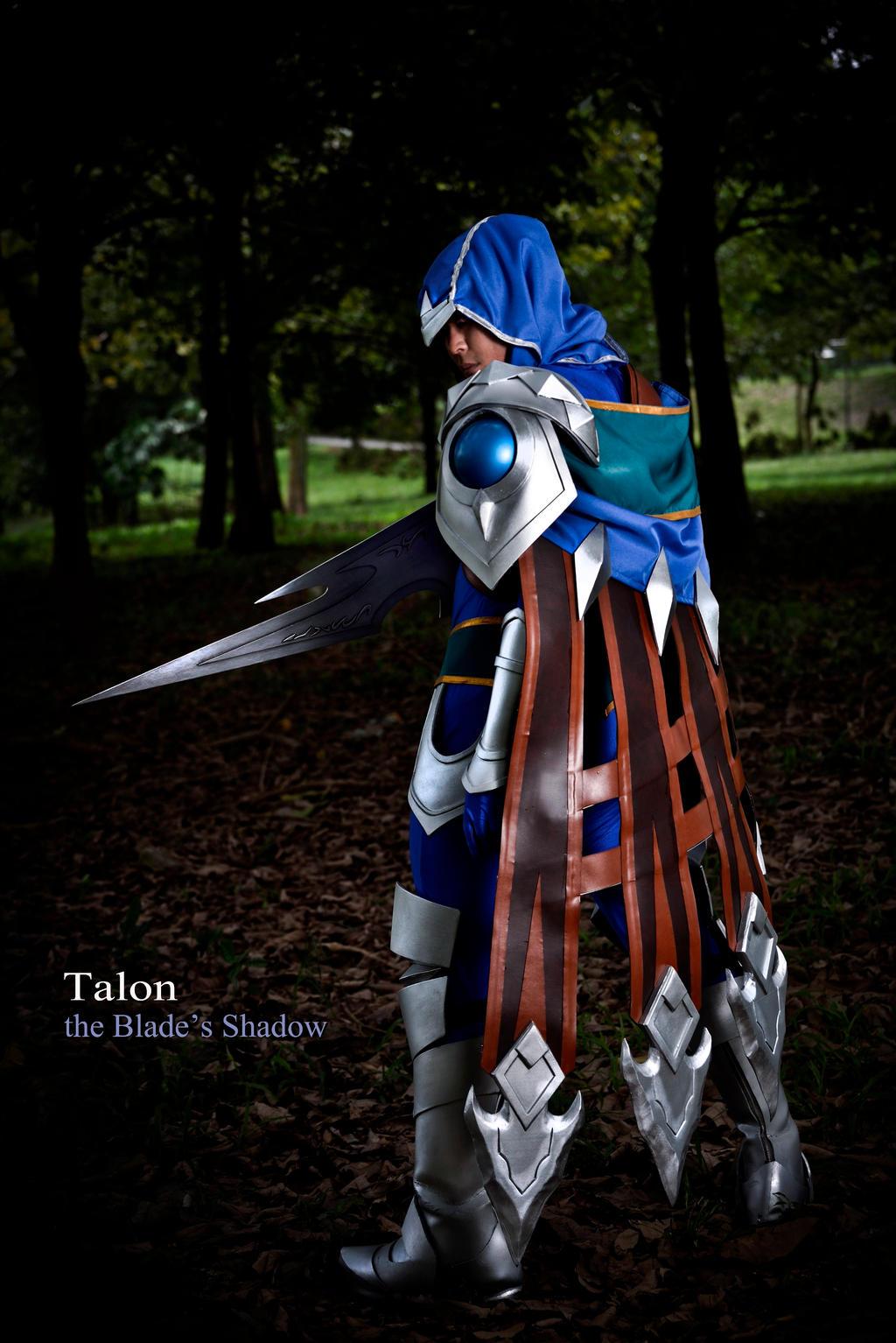 league of legends   talon the blade s shadow by jerrystrife7 d7euces - Garen Cosplay