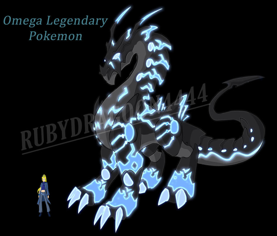 Legendary Pokemon Omega By Rubydragoon4444 On Deviantart