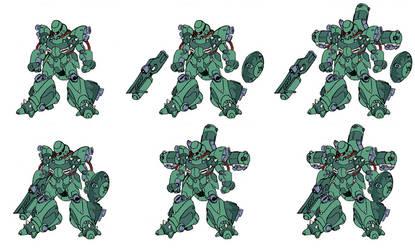 Zeon soldier Mobile Suit
