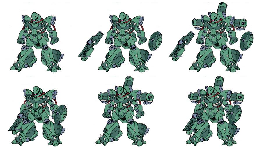 Zeon soldier Mobile Suit by Grebo-Guru