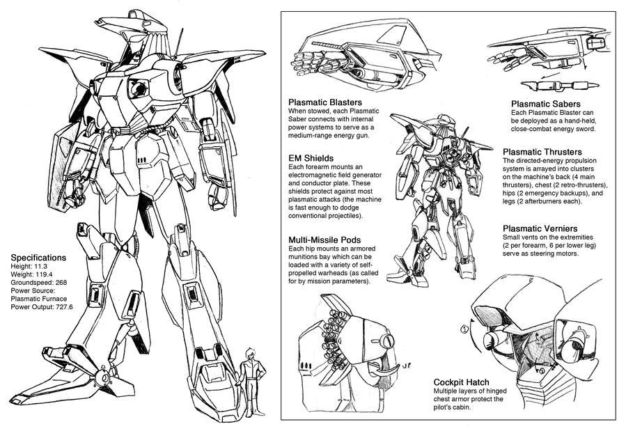 AVS-00X Draconda details by Grebo-Guru