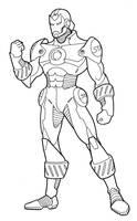 Iron Man design by Grebo-Guru