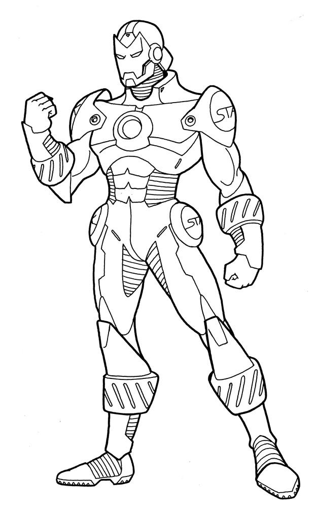 How To Draw Iron Man Full Body | www.imgkid.com - The ...