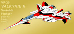 VF-2SS Valkyrie II as VF-20 as Jetfire [Fighter]